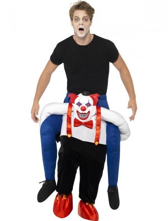 Sinister Clown Piggy Back Costume Kostumer